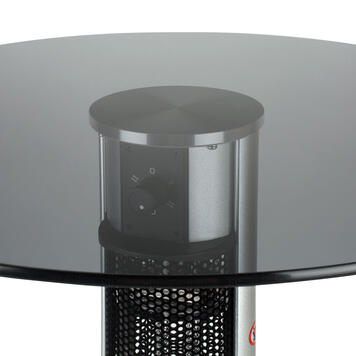 Bistro Table with Infrared Heater
