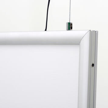 """LED Light Frame """"Simple"""", double-sided"""
