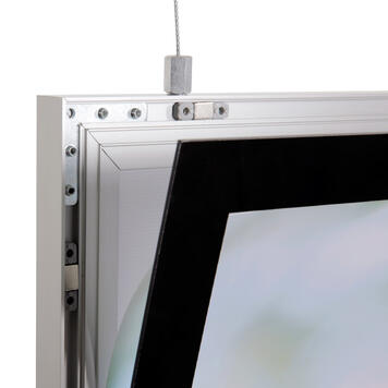 "LED Light Frame ""Ecomag"", double-sided"