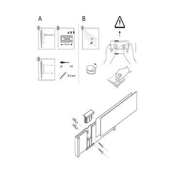"""Paper Insert for Door Sign """"Info-Sign"""""""