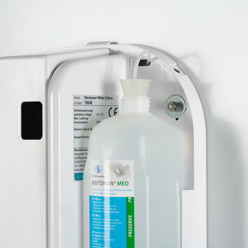 """Hygiene Station """"Multi"""" 2-sided with Steripower - Hand Disinfector"""