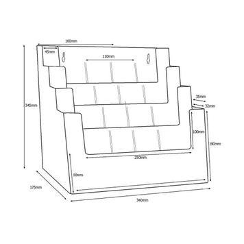 "Multi-Section Leaflet Stand ""Universum"""