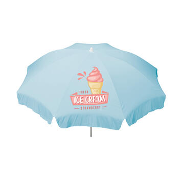 Parasol with custom print