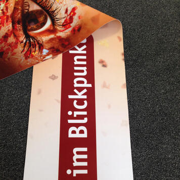 Digitally Printed Banner for Indoor and Outdoor Use