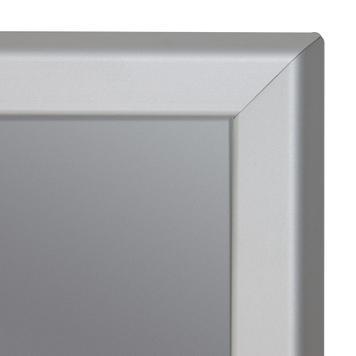 Aluminium Click Frame with Lamp Post Holder
