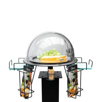Food Sample Stand I for Barrier Stands