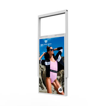 "FLASH.movie ""Double High Brightness"" Shop Window Screen"