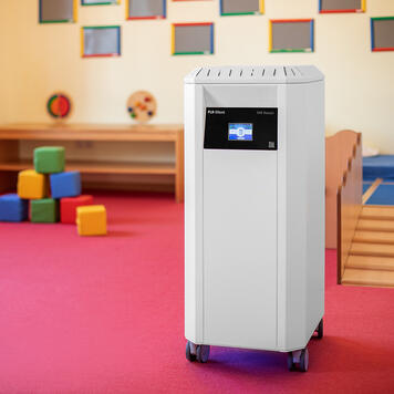 "Professional Air Purifier ""PLR Silent"" with HEPA Filter H14"