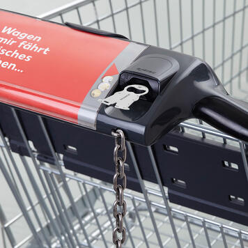 """Shopping Trolley Release Key""""Karl Home and Craftsman"""""""