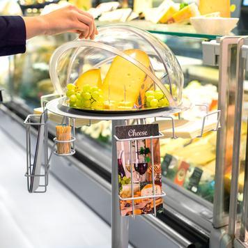 Food Sampling Stand