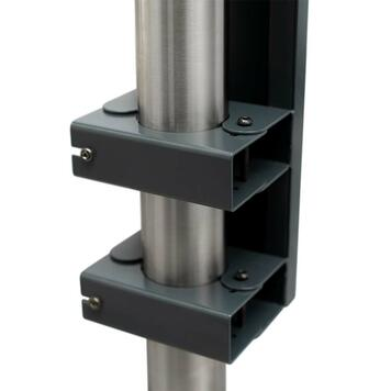 Partition Wall for Barrier Stands